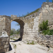 Chufut-Kale, spelaean city - fortress — Stock Photo