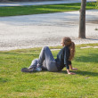 Girl has a rest — Stock fotografie #22854108