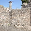 Pompeii. Interior of house — Stock Photo