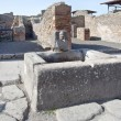 Pompeii. Drinkable fountain — Foto Stock