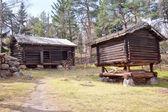 Finnish village — Stock Photo