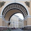 Royalty-Free Stock Photo: Arch of the General Staff is in city Saint Petersburg
