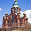Helsinki. Uspenski cathedral — Stock Photo