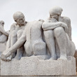 Sculptures in Frogner park - Stock Photo