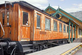Old railway carriage — Stock Photo