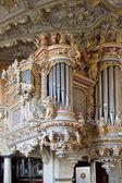 Denmark. Frederiksborg castle. Organ — Stock Photo