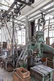 En un antiguo taller — Foto de Stock