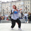 Dancing on square — Stock Photo #28561071