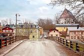 City of Porvoo. Bridge — Stock Photo