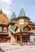 Palace of tsar of Aleksey Mikhailovich Romanov. Parade porch — Stock Photo
