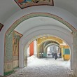 Stock Photo: Entrance to monastery