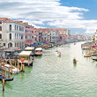 Grand Canal. Panorama. Venice. HDR — Stock Photo