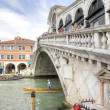 Stock Photo: Bridge of Rialto. Venice. HDR