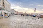 Riva degli Schiavoni. Embankment. Venice. HDR — Stock Photo