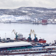 Stock Photo: Murmansk city
