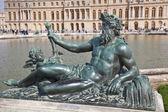 Esculturas do palácio de versalhes complexo — Foto Stock