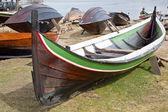 Barcos en tierra — Foto de Stock