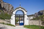 Monasterio de la cueva de uspenski — Foto de Stock