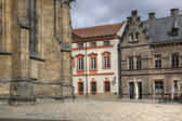 On the territory of Saint Vitus Cathedral, Prague. HDR — Stock Photo