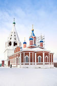 Church of Tikhvin Icon of Divine Mother is in city Kolomna — Stock Photo