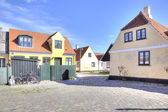 Fishing village with houses of the 16th century — Stock Photo