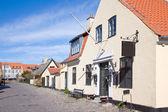 Fischerdorf mit Häusern des 16. Jahrhunderts — Stockfoto