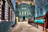 Moscow. Enchanted house. HDR — Stock Photo