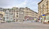 Rua principal da cidade de moscou — Fotografia Stock