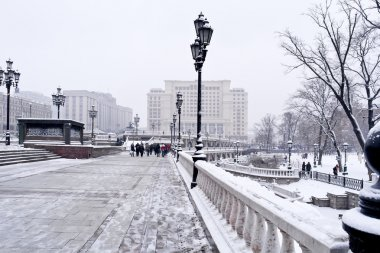 Moscow. Winter landscape
