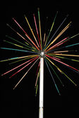 Artificial fireworks — Stock Photo