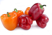 Capsicum annuum cultivars — Stock Photo