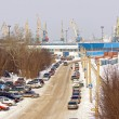 Stock Photo: Murmansk, freight port