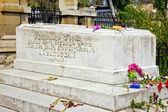 Grave of artist Ivan Aivazovsky. 1900 year — Stock Photo