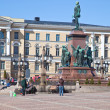 "Stock Photo: Monument to Alexander II ""Liberator"" at Senate Square in"