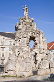 Brno. A fountain is Parnassus. 1695 year — Stock Photo