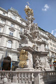 Vienna. Plague column — Stock Photo