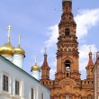 Stok fotoğraf: Belfry Church of Epiphany in Kaz