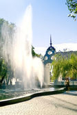 Fountain in the park  — Stock Photo