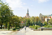 Square in the city of Kharkiv  — Stock Photo