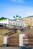 喀山。复杂的男修道院修道院 — 图库照片