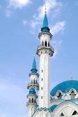 Mosque of Qolsharif, minarets — Stock Photo