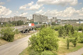 City Krasnoyarsk — Stock Photo