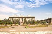 Revolution Square and the administration of the Krasnoyarsk terr — Stock Photo