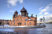 Cathedral of the Intercession Cathedral Believer  — Stock Photo