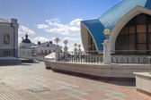 The territory of the Kazan Kremlin  — Stock Photo