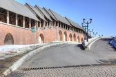 Kremlin is in city Kazan — Stock Photo