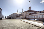 The territory of the Kazan Kremlin  — ストック写真
