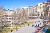 Moscou. jardin d'alexandre — Photo