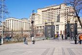 Alexander bahçe ve moskova otel — Stok fotoğraf
