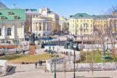 Moskwa. Aleksander ogród — Zdjęcie stockowe